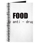 FOOD MY ANTI-DRUG Journal
