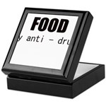 FOOD MY ANTI-DRUG Keepsake Box