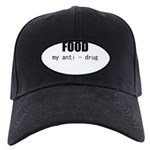 FOOD MY ANTI-DRUG Black Cap