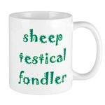 Sheep Testical Fondler Mug