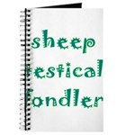 Sheep Testical Fondler Journal