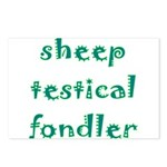 Sheep Testical Fondler Postcards (Package of 8)