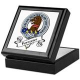 Forrester Clan Badge Keepsake Box