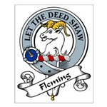 Fleming Clan Badge Small Poster