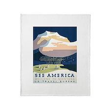See America Montana Throw Blanket
