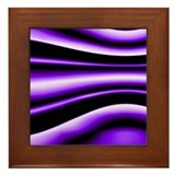 Purple Fantasy Framed Tile
