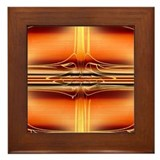 Nuclear Orange Framed Tile