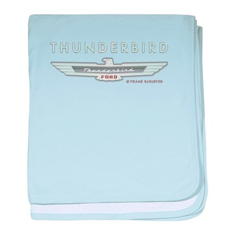 Thunderbird Emblem baby blanket