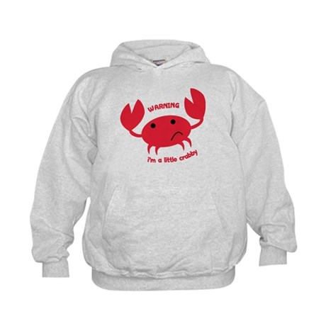 I'm A Little Crabby Kids Hoodie