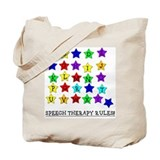 Speech Therapy Rules Tote Bag