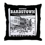 Historic Bardstown Throw Pillow
