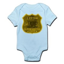 X-Ray Tech Caffeine Addiction Infant Bodysuit