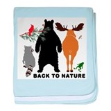 Back To Nature baby blanket