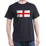 England English St. George Bl Black T-Shirt
