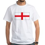 England English St. George Bl White T-Shirt