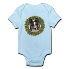 Shetland Sheepdog Xmas Infant Bodysuit