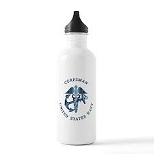 U.S. Navy Corpsman Water Bottle