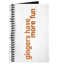 Gingers Have More Fun Journal
