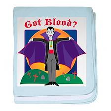 Got Blood? baby blanket