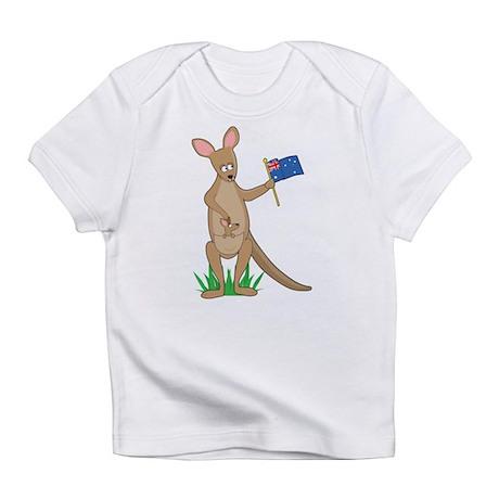 Animal Alphabet Kangaroo Infant T-Shirt
