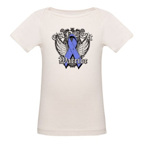 Esophageal Cancer Warrior Organic Baby T-Shirt