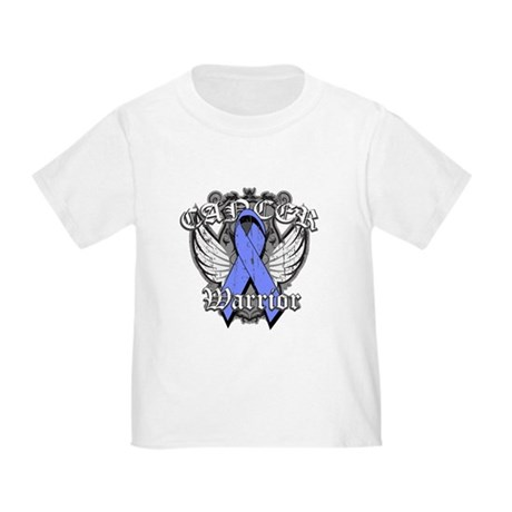 Esophageal Cancer Warrior Toddler T-Shirt