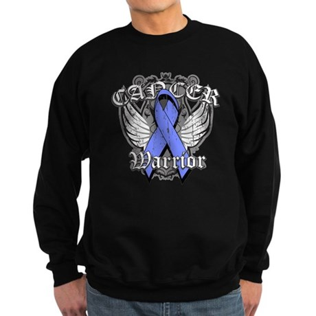 Esophageal Cancer Warrior Sweatshirt (dark)