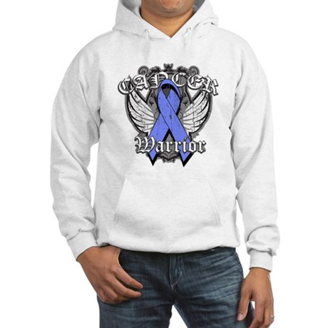 Esophageal Cancer Warrior Hooded Sweatshirt