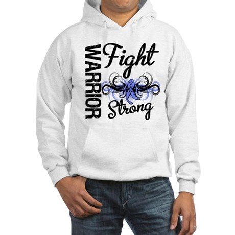 Warrior Esophageal Cancer Hooded Sweatshirt