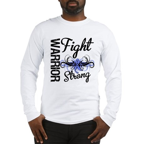Warrior Esophageal Cancer Long Sleeve T-Shirt