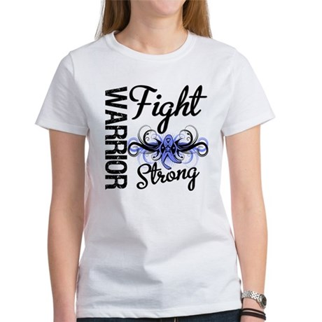 Warrior Esophageal Cancer Women's T-Shirt