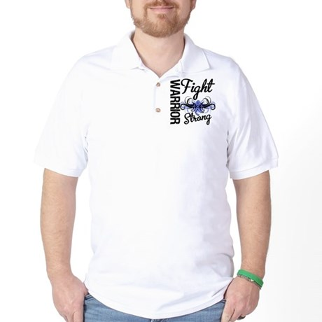 Warrior Esophageal Cancer Golf Shirt