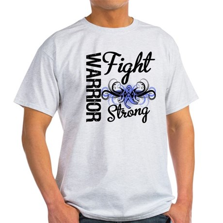 Warrior Esophageal Cancer Light T-Shirt