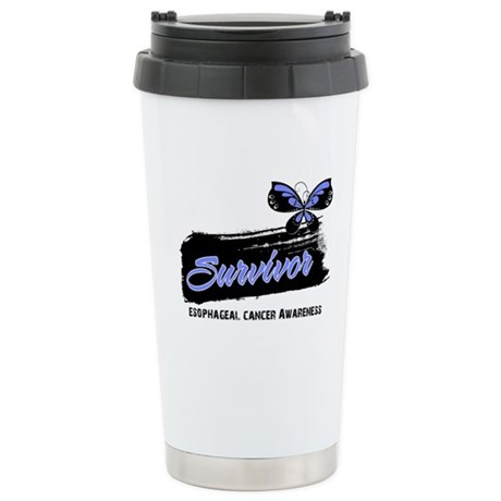 Survivor Esophageal Cancer Ceramic Travel Mug