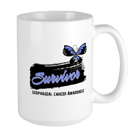 Survivor Esophageal Cancer Large Mug