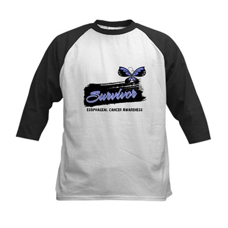 Survivor Esophageal Cancer Kids Baseball Jersey