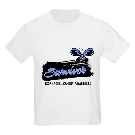 Survivor Esophageal Cancer Kids Light T-Shirt