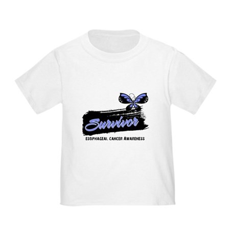 Survivor Esophageal Cancer Toddler T-Shirt