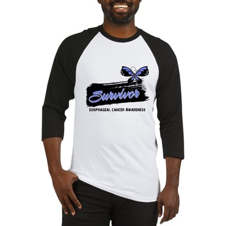 Survivor Esophageal Cancer Baseball Jersey
