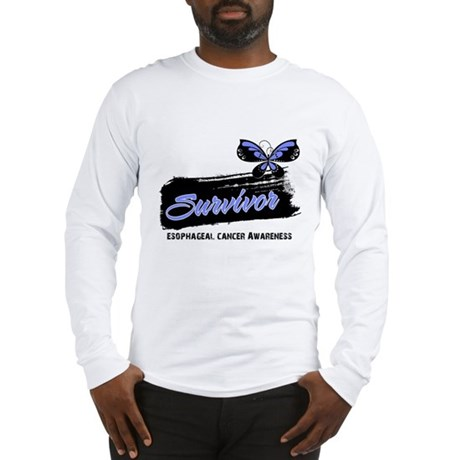 Survivor Esophageal Cancer Long Sleeve T-Shirt