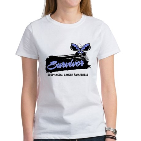 Survivor Esophageal Cancer Women's T-Shirt