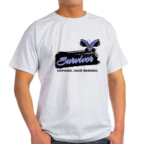 Survivor Esophageal Cancer Light T-Shirt