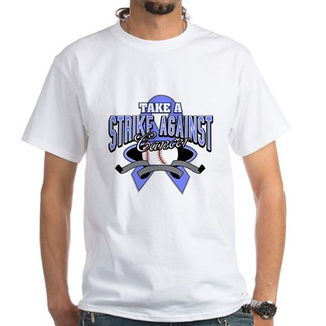Take a Strike Esophageal White T-Shirt