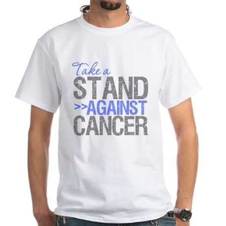 Take a Stand - Esophageal White T-Shirt