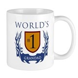 World's Number 1 Grandad Small Mug