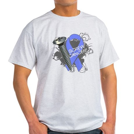 Screw Esophageal Cancer Light T-Shirt