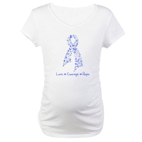 Love Hope Esophageal Cancer Maternity T-Shirt