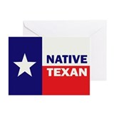Native Texan Greeting Cards (Pk of 20)