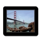 Golden Gate Chain Mousepad