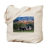 Easton's cows of autumn Tote Bag